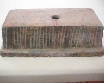 Terracotta Brick Mold, Vintage 1950's