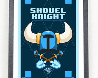 Shovel Knight art print