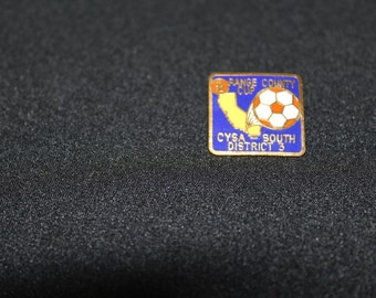 Orange County Cup Soccer Pin