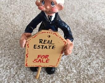 Real Estate Agent Ornament