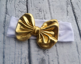 Shiny Gold Headband