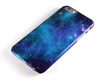 Azure Nebula -  iNK-Fuzed Hard Case for the Apple iPhone - Samsung Galaxy & More