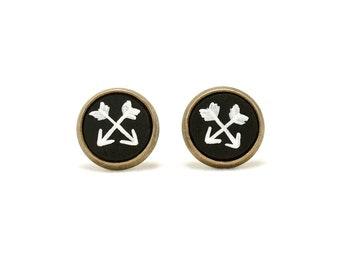 Arrow Earrings Arrow Jewelry Arrow Stud Earrings Tribal Jewelry Artemis Jewelry Artemis Earrings Stud Earrings Earring Studs Stud Earings