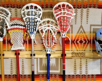 6-Stick Engraved Showcase LaxRax
