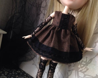 Dress for pumlip and doll of this mid size low sleeve