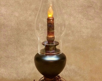 Hurricane candle lamp