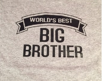 New BIG BROTHER shirt new sibling shirt New big brother tshirt  big brother t-shirts