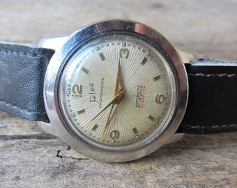 Very Rare Vintage Watch Felca Sportmaster Rotomatic Nivaflex Automatic Men's Watch Swiss Made Retro Watch Collectible Watch  Antique Watch