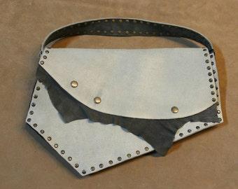 Geniune leather evening clutch