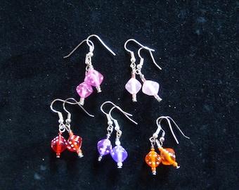 dice earrings