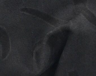 "Dark Chocolate Embossed Leather Cow Hide 4"" x 6"" Project Piece 1 1/2-2 ounces TA-38293 (Sec. 3,Shelf 6,C,Box 2)"