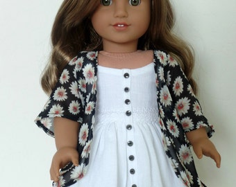 Daisy Kimono for American Girl Dolls