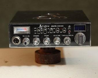 Vintage Cobra 29LTD Chrome CB RADIO Dynamike Deltatune Pa Capability