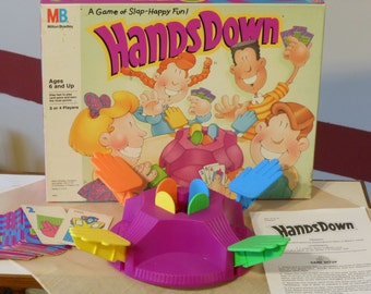 Hands Down Game. Milton Bradley. (1990)