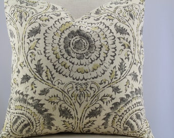 Kravet Modern Linen fabric 18x18,19x19,20x20, Pillow Cover, Throw Pillow,Decorative Pillow,same fabric on both sides.