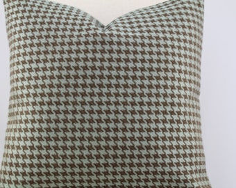 Kravet Houndstooth Pool fabric,18x18,19x19,20x20,pillow cover,accent pillow, decorative pillow.throw pillow,same fabric front and back.