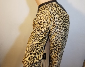 FREE  SHIPPING  Vintage High Waisted Leather Pants