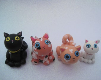 Kitten Figurine Custom Made To Order Cats And Kittens