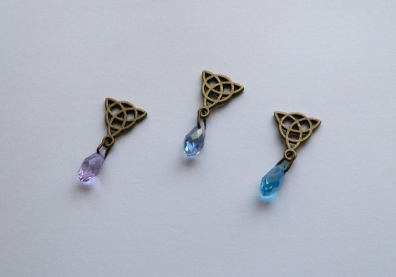 Sansa Stark Necklace Purple Wedding Inspired Necklace Game