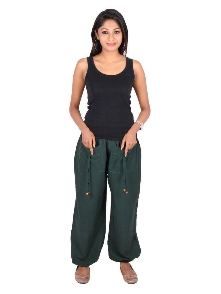 Cotton Yoga Harem Pants Plus size gift pants.