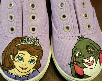 Princess Sophia inspired shoes
