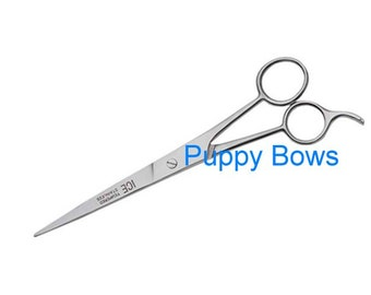 Puppy Bows ~dog grooming stainless steel scissors THREE sizes mirror finish ice tempered~ USA seller