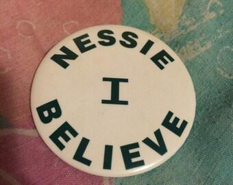 1990s Loch Ness Monster Pride Pinback Badge
