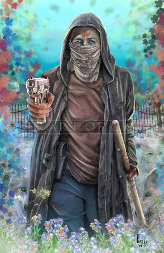 "Carol Peletier ""The Sultan of Alexandria"" 11X17 Artist's Print"