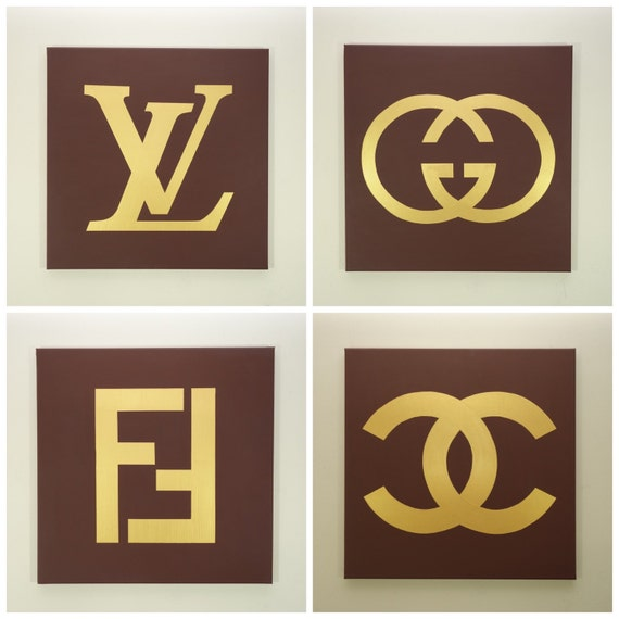Louis Vuitton Gucci Fendi and Chanel Paintings by ...