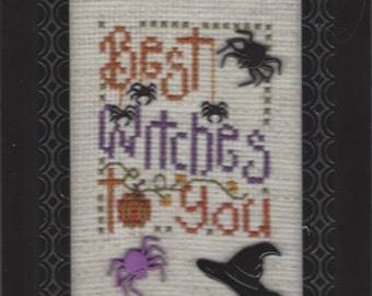 Counted Cross Stitch, BEST WITCHES to YOU