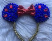 Royal & Red Princess Diamond Mouse Ears