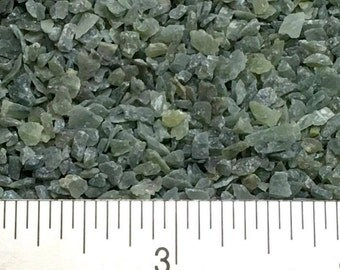 Crushed New Jade Serpentine - Large Sand - 100% Natural without fillers