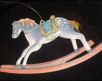 Metal Horse Ornament