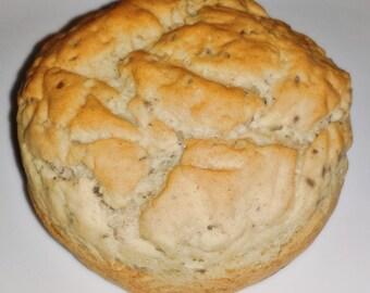 Celiac Friendly, Gluten Free, Dairy free, Whole Grain, Extra Large, buns - 4pk. - Hamburger Buns