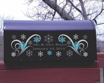 Frozen Wedding Winter Wedding Winter Wonderland Wedding Card Holder 2B - Card Box - Wedding Card Mailbox #2- Wedding Mailbox