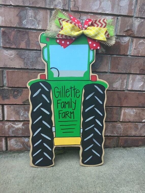 Tractor Door Hanger Farm Door Hanger Harvester Door Hanger
