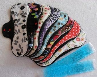 Set of (8) Postpartum Ice Pocket Pads- Made to Order- Pampered Shop