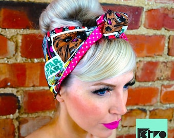 Star Wars Comic Rockabilly Retro Pin up Headband