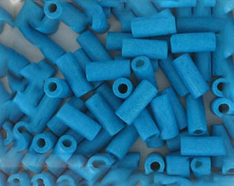Greek Ceramic Spacer 16mm Tube Beads, Lot of 250, Choice of Colors