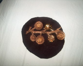 Vintage Costume Jewelry Brooch Pin, Carolee
