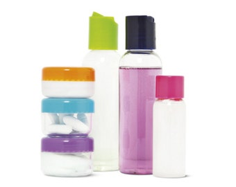 Travel home office cosmetic cream boxes of bottled water bottles wash up Pouch Carry On Kit