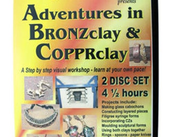 Adventures in Bronzclay & Copprclay - DVD (VT2511)