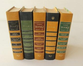 Reader's Digest Condensed Books, Volume 1 1970, Volume 2 1969, Volume 2 1970, Volume 3 1969, Volume 3 1970