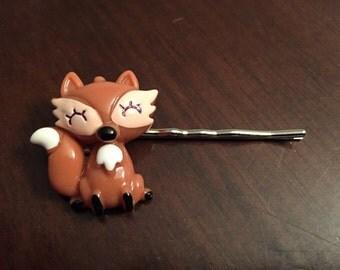 Fox Hair Pins - Cute Critter Hair Pins - Fox Hair Pin Set