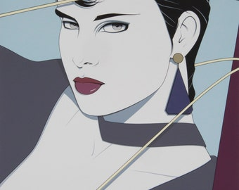 Patrick Nagel Commemorative #15 - Merrill - Chase Galleries - Chicago