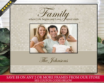 family picture frame personalized family picture frame