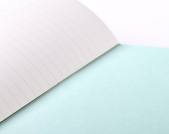 Notebook : Turquoise Green Mint - Ice Popsicle Lollipop (lined Pages)