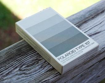 UNOPENED Polaroid Film // Type 107 Pack Film // Black and White Print // Expired 10/1986