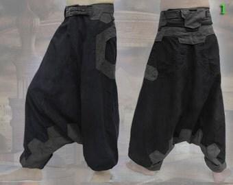 Vimana Pants ~ apocalyptic steampunk sarouel Harem pantalon
