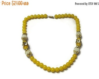 Necklace Yellow pearl Jewelry Bollywood Necklace Designer Necklace Indian Handmade Jewelry Wedding Jewelry-Price for 01-IDJ01